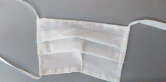 Imagen de archivo de una mascarilla reutilizable.