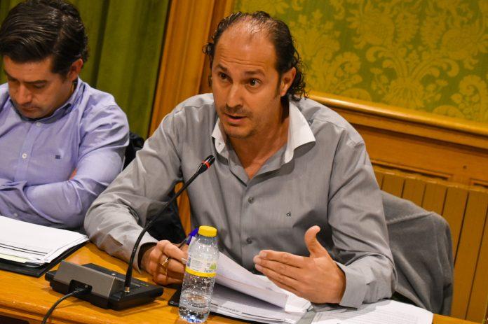 El concejal Jaime Romero