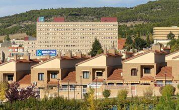 Vista del Hospital Virgen de la Luz de Cuenca.