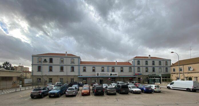 Estación de tren convencional de Cuenca capital.